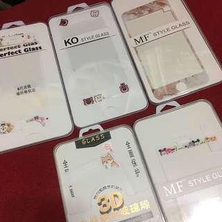 iPhone 6/6s mon貼 All全新 $15/1包郵 只寄平郵 損壞不負責 (雲石紋已售)