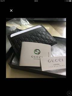 New Gucci cardholder brown in color