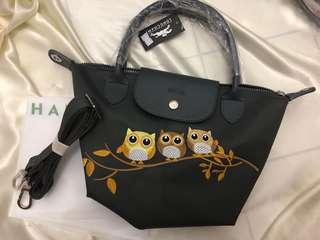 Longchamp Bag owl 3D