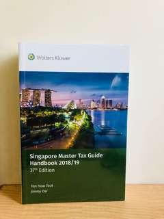 🚚 SINGAPORE MASTER TAX GUIDE HANDBOOK 2018/19