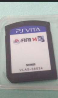 Sony PS Vita Fifa 14 game card cartridge