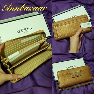 CLEARANCE OFFER! Guess Purse Wallet- Copper Color (100% Authentic)
