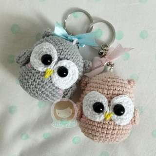Souvenir Keychain Owl
