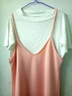 Peachy peach Dress