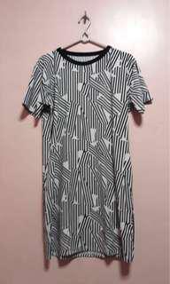 HTP printed dress