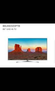 LG 86 inch TV Mint Condition (2 Units)