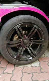 Cobra Rim for HIACE n NV350