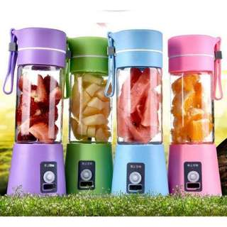 USB Electric Handheld Smoothie Maker Blender Rechargeable Mini Po