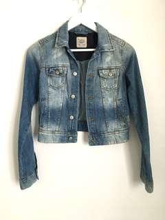 Pull&Bear Washed Denim Jacket