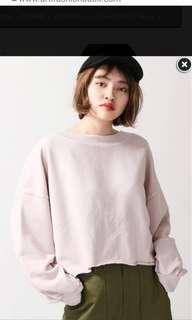 Browny Hoodie Sweatshirt - BEIGE