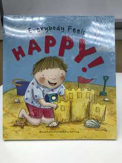 Everybody Feels pack (4 books) Happy, Angry, Sad, Scared