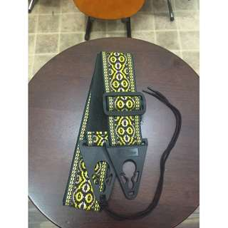 Guitar Strap - Yellow