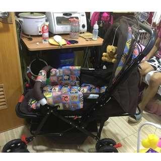 For sale slightly used Apruva stroller