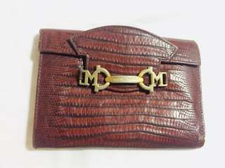 BRUNO MAGLI leather wallet
