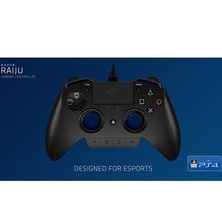 Razer Raiju controller PS4/ Thresher 7.1 wireless headset/ Stealth Tee
