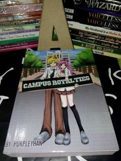 Wattpad book: Campus Royalties
