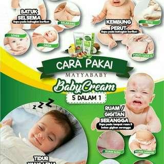 Mayyababy cream 5 in 1
