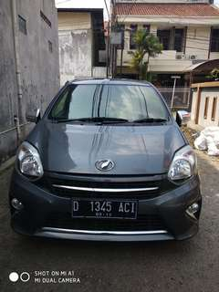 Toyota Agya g matic 2014 grey km 11ribu