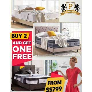 My President Mattress Buy 2 Get one Free From $799 Call 96177025 Leon