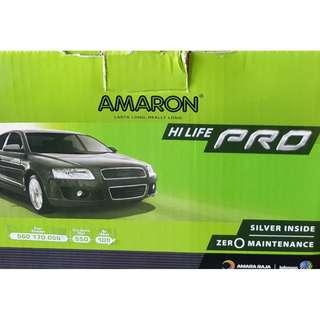 (請先詢價) 愛馬龍 AMARON PRO 560170 歐規 汽車電池 560170055 DIN60