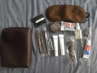 WTS: Air Astana Business class amenities kit (men)