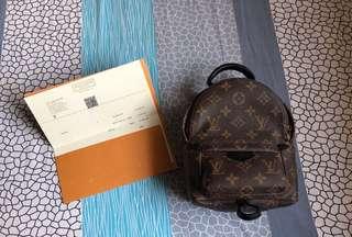 Authentic Louis Vuitton LV mini Backpack