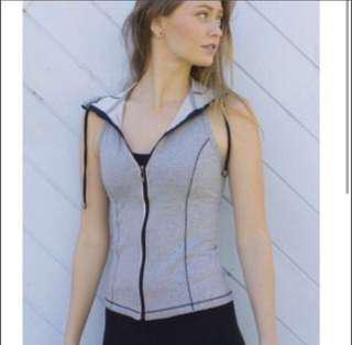 Block our grey cotton vest