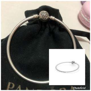 Authentic Pandora You melt my heart bangle 19cm