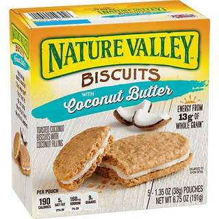 🚚 Nature Valley BUTTER BISCUIT SANDWICHES 天然谷纖奶油夾心派(4種全齊)