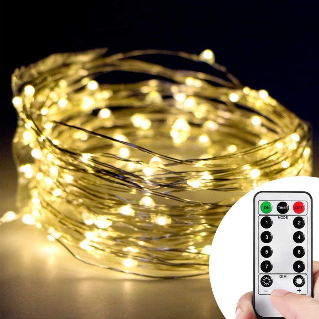 Copper Wire Starry String Led Lights