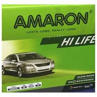 (請先詢價) 愛馬龍 AMARON 55B24L 55B24LS 55B24R 55B24RS 免加水電池