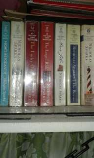 Nicholas Sparks  Novels ( any one for 220 each)