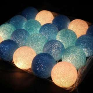 Dessert / Candy Table Props Rental_Cotton ball light Battery led operated