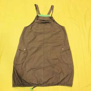🚚 a la sha👽巨可愛森林系吊帶洋裝 #女裝半價拉