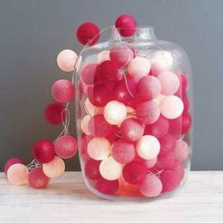 Dessert / Candy Table_Props Rental_Cotton ball light Battery led operated