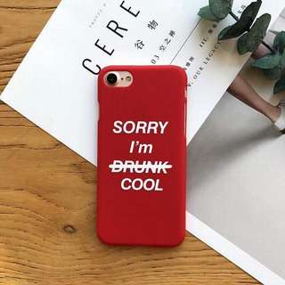 Sorry i'm cool case iphone 6s+ 6s plus 6+ 6 plus