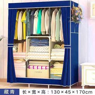 Wardrobe with curtain style 88130