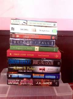 BOOK BUNDLE (10 BOOKS)