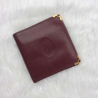 Authentic catier bifold wallet