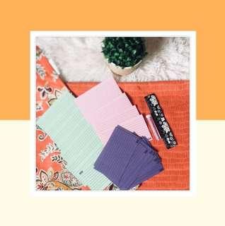 📎Index Cards w/FREEBIES📎