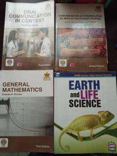 Grade 11 HUMSS books Roosevelt College