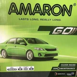 (請先詢價) 愛馬龍 AMARON 46B24L 46B24LS 46B24RS 免加水電池