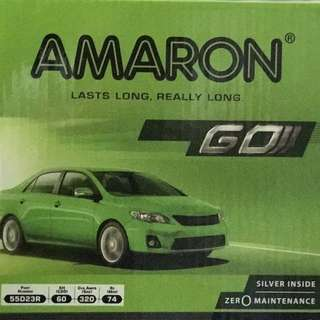 (請先詢價) 愛馬龍 AMARON 55D23L 55D23R 免加水電池
