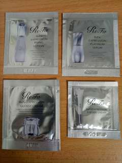 Refa lotion ,serum gosst cream eye veil cream set