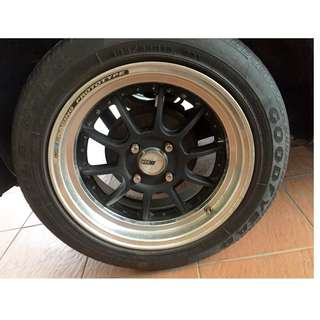 Sport Rim 15 SSR with Goodyear NCT 5