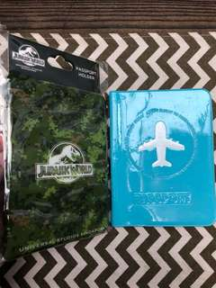 New! Jurassic World Passport Holder from USS