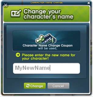 Maplesea Name Change Coupon
