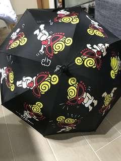 已絕版hysteric 黑超b雨傘☂️