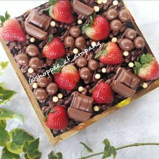 Brownies Nutella With Choc & Fruits