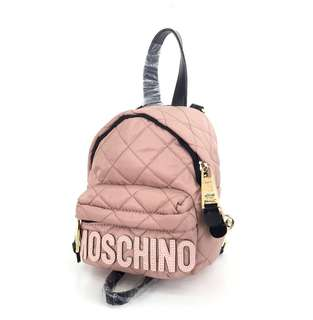 Moschino Quilted Backpack Mini
